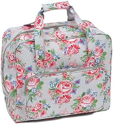 Hobbygift - Bolsa para máquina de Coser (PVC Mate, 20 x 43 x 37 cm), Color Rosa