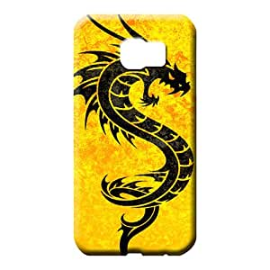 samsung galaxy s6 edge Extreme Slim Fit pattern mobile phone carrying cases dragon