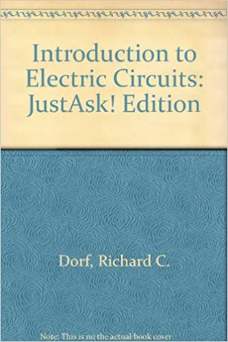 Introduction To Electric Circuits Justask Edition Amazon