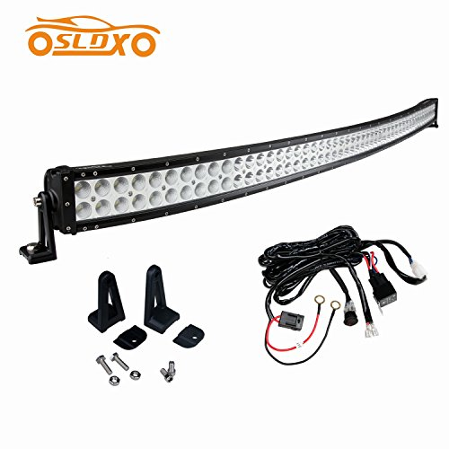 autoledlighting curved 300w 52inch cree off road led light