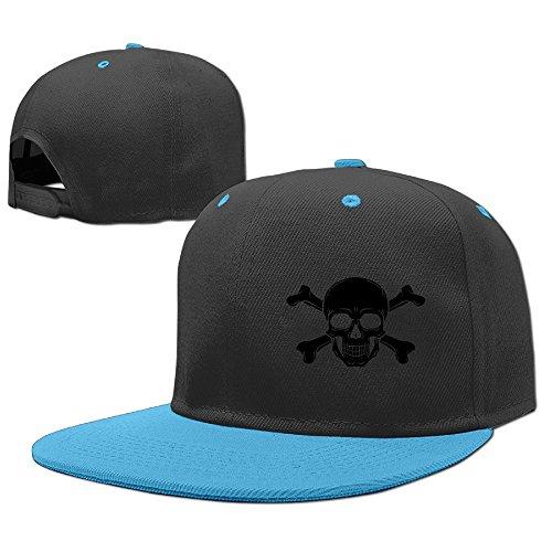 [YSDISJE Pirate Skull Kid Hip Hop Baseball Cap Toddler Snapback Hat For Boys Girls Graphic Adjustable Cool Trucker Plain Flat Hats For Dance,Neo-Jazz,Street Jazz,Reggea] (Pirate Tooth Cap With Skull)