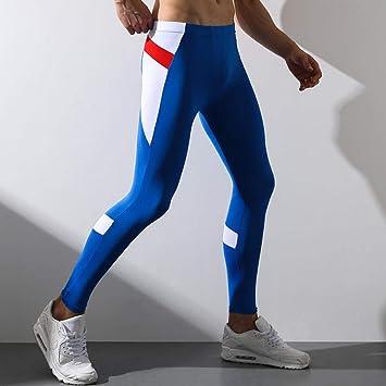 DHDHWL Leggings Hombre Elásticos Transpirables,Pantalones De ...