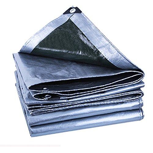 ボード等々背が高いLIXIONG オーニング テント 屋外 両面防水 断熱 トラック 抗UV 、190G /㎡ 、0.25mm 、14サイズ (色 : Gray+black, サイズ さいず : 5.8 x 7.8 m)