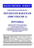 Rigos Primer Series Uniform Bar Exam (UBE) Review Multistate Bar Exam (MBE Volume 1)