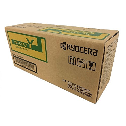 Kyocera TK-5152Y Yellow Standard Yield Toner Cartridge