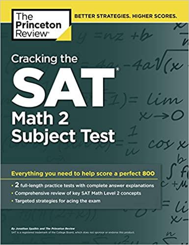 Amazon cracking the sat math 2 subject test college test cracking the sat math 2 subject test college test preparation csm edition fandeluxe Image collections