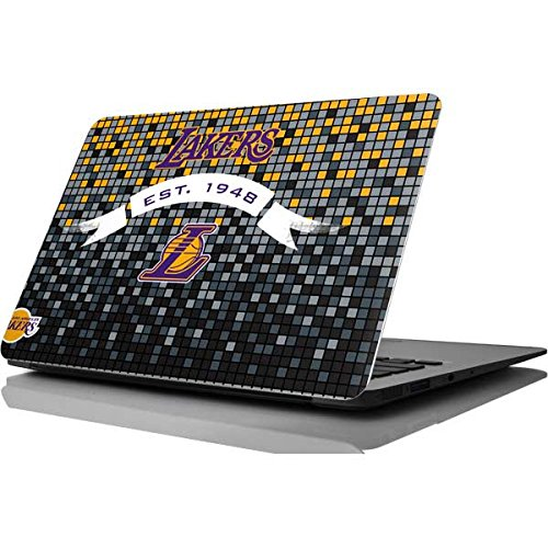 Skinit NBA Los Angeles Lakers MacBook Air 11.6 (2010-2016) Skin - LA Lakers Digi Design - Ultra Thin, Lightweight Vinyl Decal Protection by Skinit