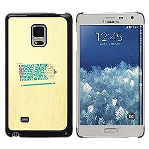 Paccase / Dura PC Caso Funda Carcasa de Protección para - Design Believe God Good Happy Quote - Samsung Galaxy Mega 5.8 9150 9152