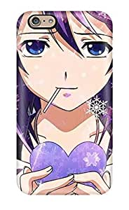 Flexible Tpu Back Case Cover For Iphone 6 - Winter Anime(3D PC Soft Case)