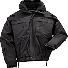 5.11 Tactical Series 48017 5-in-1 Jacket (Black, Large)
