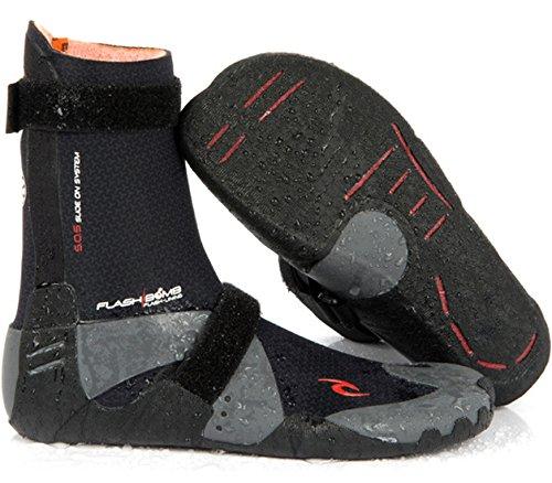 Rip Curl Flash Bomb Hidden Split Toe Wetsuit, Size 10/5mm, Black