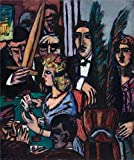 Oil Painting 'Max Beckmann,Baccarat,1947', 16 x 19 inch / 41 x 49 cm , on High Definition HD canvas prints is for Gifts And Basement, Living Room And Powder Room Decoration, small