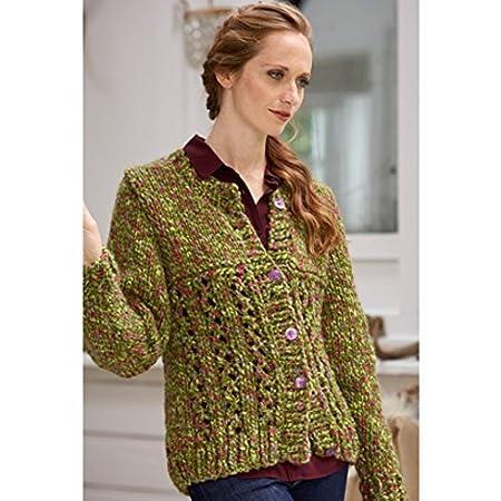 f9953d5e3 Stylecraft Ladies Sweater   Cardigan Swift Knit Tweed Knitting Pattern 9332  Super Chunky  Amazon.co.uk  Kitchen   Home
