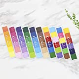 Aibecy Craft Finger Ink Pad Stamps 10 Colors Assorted Gradient Color Ink Pads Stamps Colorful Rubber Stamp Pad DIY Craft Scrapbooking Finger Paint Multicolour Fingerprint Inkpad