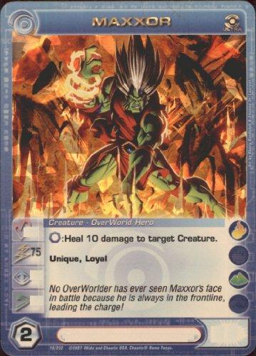 - MAXXOR Chaotic Premium Edition Season 1 Ultra Rare Gold Foil Card & Unused Code (MAX STRENGTH 75)