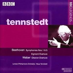 Beethoven: Symphonies Nos. 1 & 5, Egmont Overture; Weber: Oberon Overture