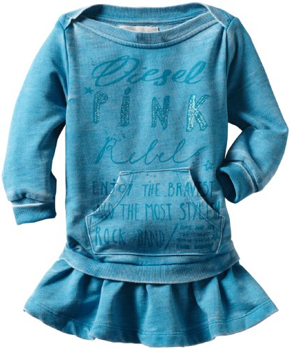 Diesel Baby Girls' Deyefb Sweatshirt Dress