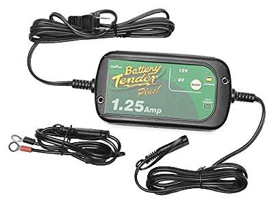 Battery Tender 022-0211 Plus Selectable 6-V/12-V 1.25 Amp Battery Charger
