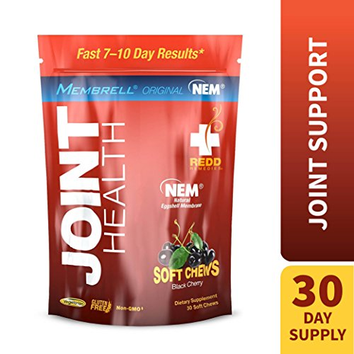 Redd Remedies - Joint Health Original, Helps Strengthen Connective Tissue and Cartilage, Black Cherry, 30 Soft Chews (A Treat Black Cherry)