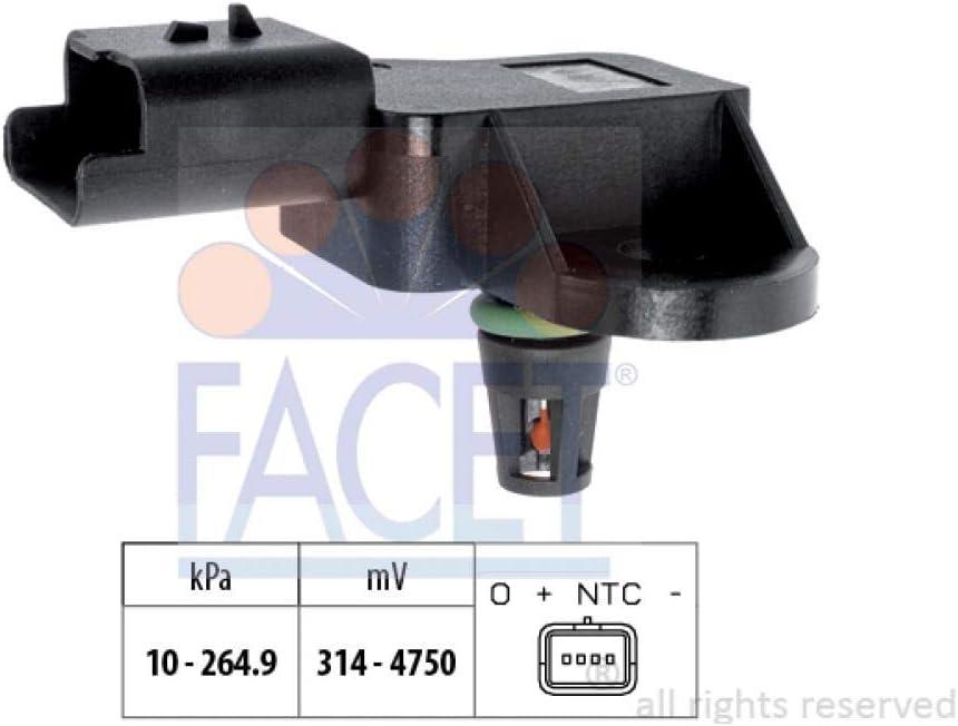 Facet 10.3113 Sensore pressione aria Aggiustaggio altimetrico; Sensore Pressione collettore daspirazione