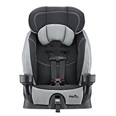 """The Evenflo Chase LX is a forward facing-harnessed car seat holding children from 22-40 pounds (height: 28-50"""" ) that also can be converted to a belt-positioning booster for children from 40-110 pounds (height: 43-57"""" ). In addition to 4 shou..."""