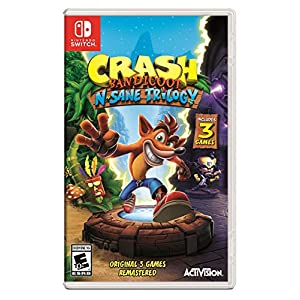 Ratings and reviews for Crash Bandicoot N. Sane Trilogy - Nintendo Switch Standard Edition