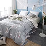 Garden flower quilt cover/pure cotton european style-J 200x230cm(79x91inch)