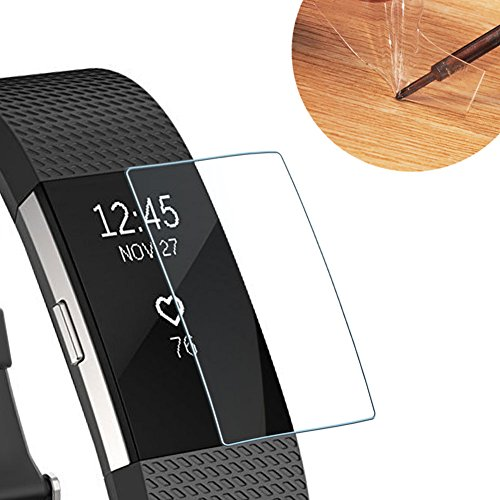 Screen Saver for Fitbit Charge 2, Full Coverage and Great Protection (Screen Protector x12)