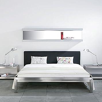 Bett Mit Gepolstertem Kopfteil bett mit gepolstertem kopfteil 180 x 200 cm amazon de küche