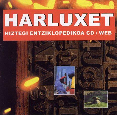 (CD-rom) harluxet hiztegi entziklopedikoa por á