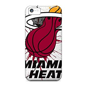 Hot New Miami Heat Case Cover For Iphone 5c With Perfect Design