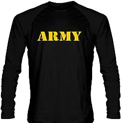 707603c05c6 LightningWear Youth Black Army Long Sleeve Shirts Youth, Black