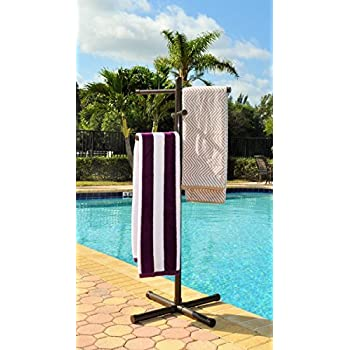 Outdoor lamp company 405w portable outdoor 5 for Outdoor towel caddy