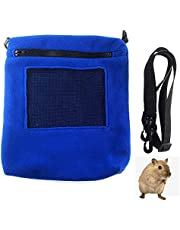 Sugar Glider bonding Pouch,Snake Carrier,Hedgehog Accessories, bonding Pouch Carrier for Small Animals (Blue) (Blue)