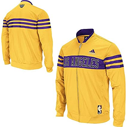 Adidas Los Angeles Lakers Walter Brown Collection On-Court Jacket Chaqueta