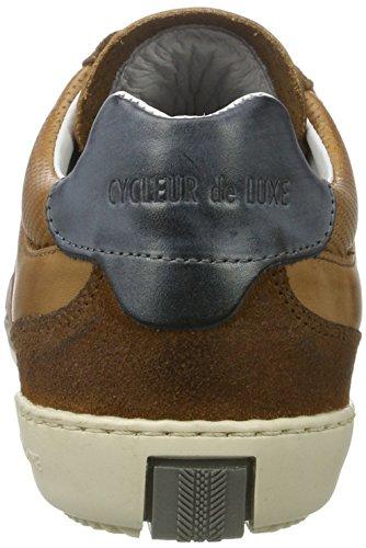 Cycleur de luxe Solo, Sneaker Basse Uomo Mehrfarbig (Cognac/Navy)