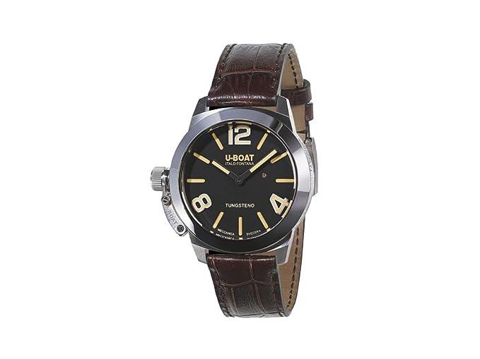 Reloj Automático U-Boat Classico Stratos 40 BK, Negro, 40mm, Tungsteno Pulido