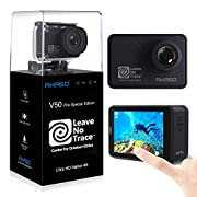 AKASO V50 Pro SE Action Camera, 4K/60fps Touch Screen Waterproof Camera, EIS and Wi-Fi Remote Control Sports Camera with…