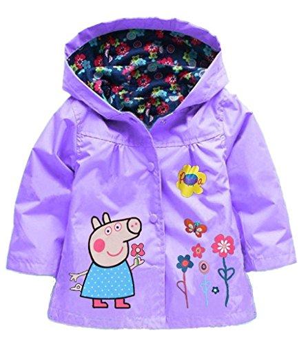 rain jacket girl 2t - 6