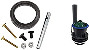 American Standard 7301021-0070A Tank to Bowl Coupling Kit AND American Standard 3174.105-0070A Champion Universal Replacement Flush Valve