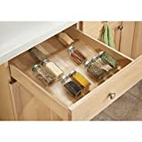 InterDesign Expandable Spice Rack Organizer for Kitchen drawer - Clear