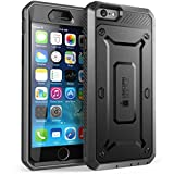 Iphone 6 Best Deals - Supcase Estuche para iPhone 6 / 6S de 4.7 pulgadas (Unicorn Beetle Pro), iPhone 6, Negro/Negro