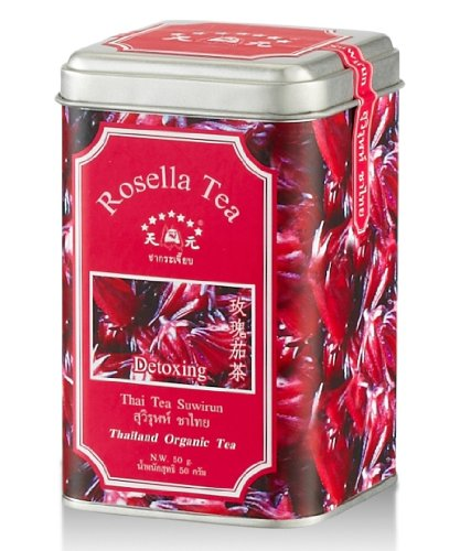 Suwirun Thai Organic Rosella Tea (Detoxing Aroma) 50g. by Coffee Tea & More