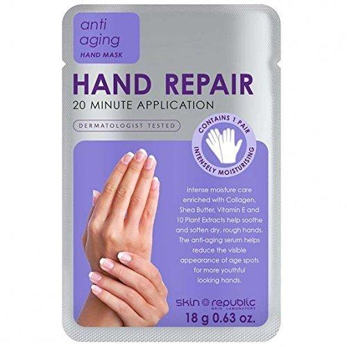 Pelle Republic salone professionale riparazione mano 20minuti applicazione trattamento–18g Skin Republic Skin Laboratory