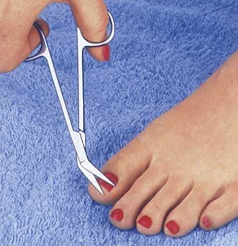 WENKO Fußnagelschere und Fußnagelclipper Fußnagelschere gebogen Fußnagelschere
