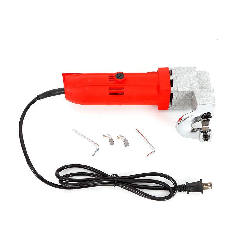 Electric Metal Shear Scissors Heavy Duty Tin Snips Cutter Power Tool 110V by Senderpick