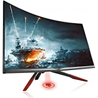 CrossLCD 32QX 144 CRONUS Curved 32 WQHD (2560x1440) PVA Gaming Monitor, 144Hz/3ms, Flicker Free&Low Blue Light, AMD FreSync, Game mode, Cross Hair (HDMI, DP), PIP/PBB, 1800R