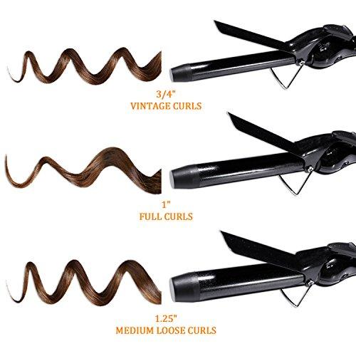 Parwin Beauty 1 Inch Wand Curling Iron With Tourmaline