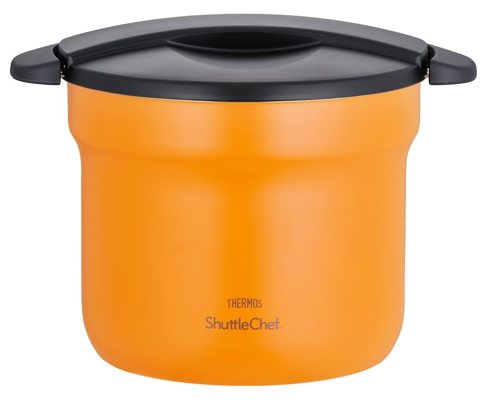 Thermos Vacuum Insulation Cooker Shuttle Chef 4.3l Apricot Kbf-4500