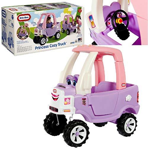 Carro Caminhão Princesa Cozy Truck, Little Tikes, Roxo